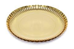 Placas douradas do bolo Imagem de Stock