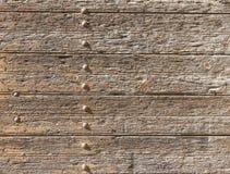 Placas e rebites velhos do metal Fundos e texturas fotografia de stock