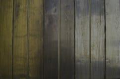 Placas e textura de madeira abstratas do fundo dos polos Imagens de Stock