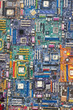 Placas madres del ordenador Imagenes de archivo