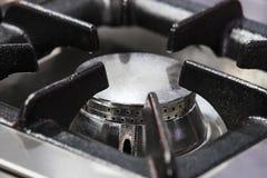 Placas metal-gas de la superficie del avellanador de las hornillas fotografía de archivo