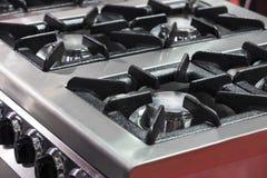 Placas metal-gas de la superficie del avellanador de las hornillas foto de archivo libre de regalías