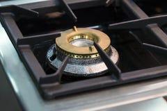 Placas metal-gas de la superficie del avellanador de las hornillas imagen de archivo