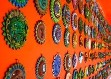 Placas mexicanas de la decoración fotos de archivo