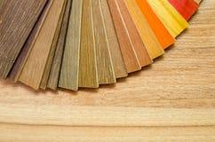 Placas pequenas da amostra da cor Fotos de Stock