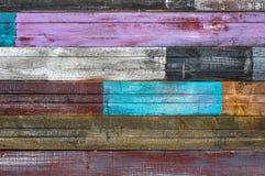 Placas rachadas idosas com pintura da casca imagem de stock royalty free