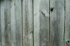 Placas velhas, textura de madeira cinzenta do fundo Fotografia de Stock Royalty Free