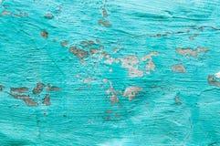 Placas viejas pintadas con la pintura del abedul en el metal Fotos de archivo