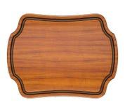 Placca di legno Fotografie Stock