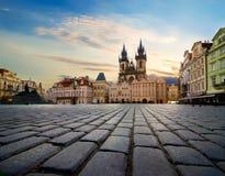 Place à Prague photographie stock libre de droits