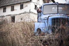 Place abandonnée Photographie stock libre de droits