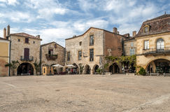 Place in Aquitaine Royalty Free Stock Photo