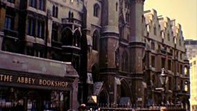 Place archivistique d'Abbaye de Westminster à Londres clips vidéos