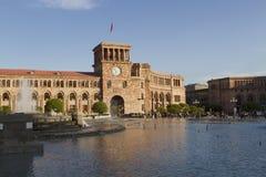 Place Arménie de République d'Erevan images libres de droits