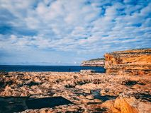 Place of azure window. Used to be Royalty Free Stock Photos