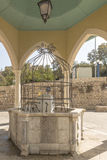 A place for bathing Ancient mosque in the Israeli city of Jaffa Royalty Free Stock Photos