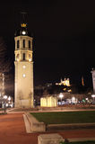 Place Bellecour by night. Lyon Stock Image