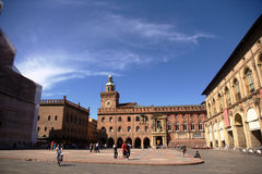 Place of bologna Royalty Free Stock Photo
