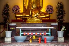 A place for Buddhist ritual Stock Photography