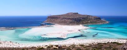 Lagoon Balos, Gramvousa, Crete, Greece Royalty Free Stock Photos