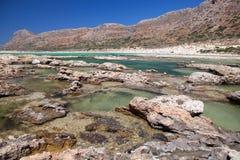Balos lagoon of Crete, Greece Royalty Free Stock Photography