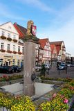 Place called grosser plan in the center of celle with peep well Royalty Free Stock Photo