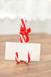 A place card holder Stock Images