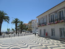 Place  in Cascais, Portugal Royalty Free Stock Images