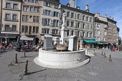 Place ce bourg de Four, Geneva Stock Image