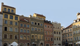 Place in the center of Warsaw Royalty Free Stock Images