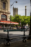 Place of Chatelet. In Paris, France Stock Photo