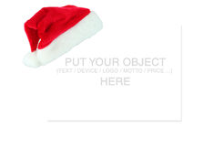 Place for christmas message vector illustration