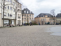 Place Clairefontaine in Luxembourg city Stock Photography