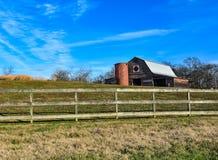 Place d'édredon de grange Photos libres de droits