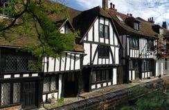 Place d'église, Rye, le Sussex est, Angleterre Images stock