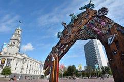 Place d'Aotea à Auckland - au Nouvelle-Zélande photo libre de droits