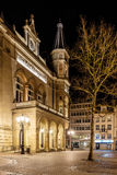 Place d'armes in the night, Luxembourg Stock Photo