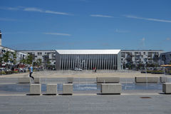 Place d Armes square in Calais Stock Photo