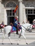 Place d'arsenal de cavaliers de horseback Photos stock