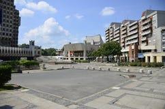 Place d'hôtel de ville Image libre de droits