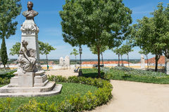 Place dans la ville d'Evora près de Diana Temple Evora, Portugal photo libre de droits