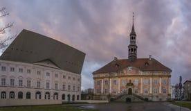 Place dans Narva, Estonie Photographie stock libre de droits