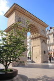 Place Darcy and the Porte Guillaume, Dijon, France Royalty Free Stock Photography
