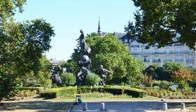 Place de Λα έθνος, Παρίσι στοκ φωτογραφία με δικαίωμα ελεύθερης χρήσης