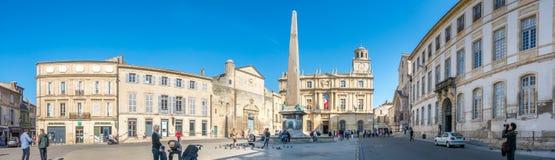 Place de Λα Republique σε Arles, Γαλλία Στοκ εικόνα με δικαίωμα ελεύθερης χρήσης