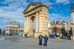 Place de Λα Victoire στο Μπορντώ, Γαλλία Στοκ εικόνα με δικαίωμα ελεύθερης χρήσης