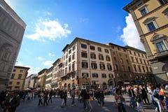 Place de bâtiment de Repubblica de della de Piazza Photo libre de droits
