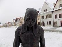 Place de Bardejov photos libres de droits