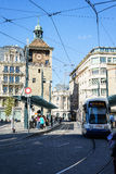 Place de Bel Air, Γενεύη, Ελβετία Στοκ φωτογραφία με δικαίωμα ελεύθερης χρήσης