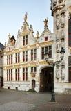 Place de Burg à Bruges flanders belgium photo stock